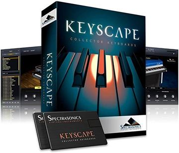 Picture of Spectrasonics KeyScape Keyboard Collection Virtual Instrument  Boxed Version