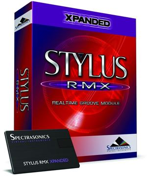 Picture of Spectrasonics Stylus RMX Xpanded  Virtual Instrument  Boxed Version