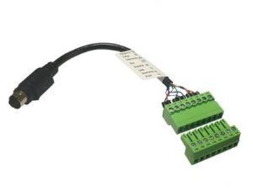 Picture of BirdDog 8-Pin Mini Din to Phoenix Control Cable Adapter