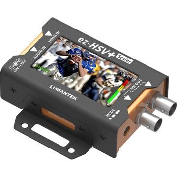 Picture of Lumantek HDMI to SDI Converter with Display and Scaler