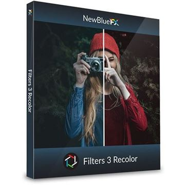 Picture of NewBlue Filters 5 Recolor ESD