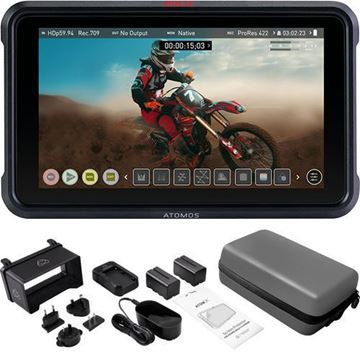 """Picture of ATOMOS NINJA V BUNDLE WITH 5"""" ACCESSORIES KIT"""