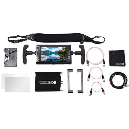 Picture of SmallHD 703 Ultra Bright Monitor Gold Mount Bundle
