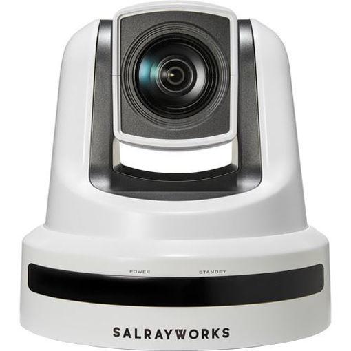 Picture of Salrayworks 1/2.8'' Exmor R CMOS Sensor PTZ Camera (Optical Zoom: 20x / Digital Zoom: 12x / Genlock, White)
