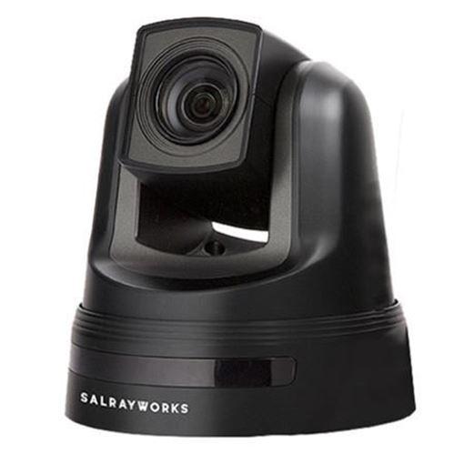 Picture of Salrayworks 1/2.8'' Exmor R CMOS Sensor PTZ Camera (Sony Optical Zoom: 30x / Digital Zoom: 12x / Genlock, Black)