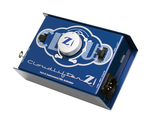 Picture of Cloud Microphones Cloudlifter Zi 1-Channel Di And Mic Activator W/Variable Impedance