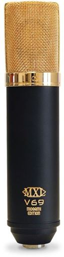 Picture of MXL V69 Medt Large Diaphragm Tube Condensor Microphone Mogami Edition
