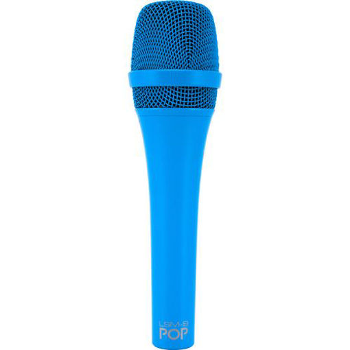 Picture of MXL Lsm-9 Pop Blue Cardiod Hand-Held Dynamic Mic