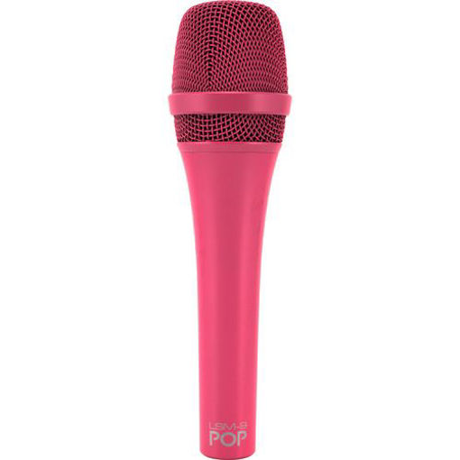 Picture of MXL Lsm-9 Pop Magenta Cardiod Hand-Held Dynamic Mic