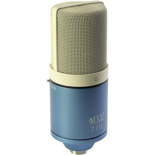 Picture of MXL 770 Small-Diaphragm Cardioid Condenser Microphone (Sky Blue)