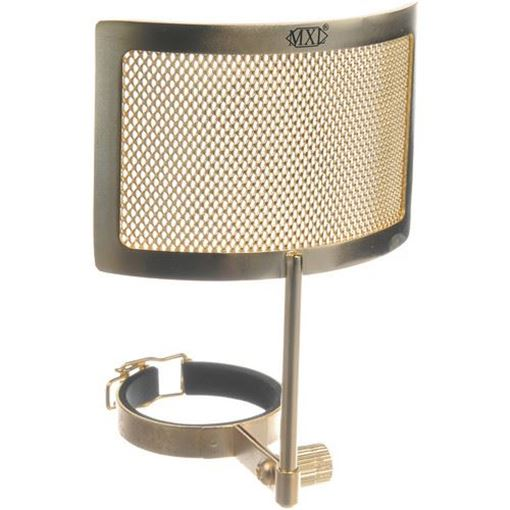 Picture of MXL Gold Metal Mesh Pop Filter
