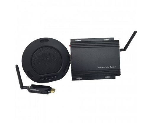Picture of HUDDLEPOD AIR WIRELESS USB SPEAKERPHONE, RECEIVER AND EXTENDER SET