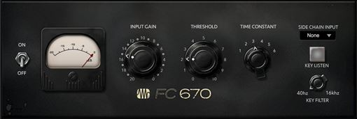 Picture of Presonus FC-670 Compressor Iconic 50s compressor/limiter plugin Download