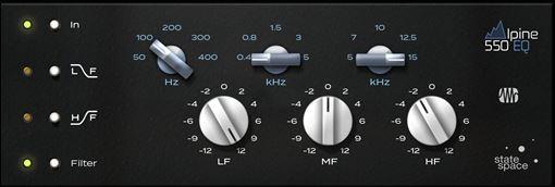 Picture of Presonus Alpine EQ-550 - Fat Channel Plug-in Download