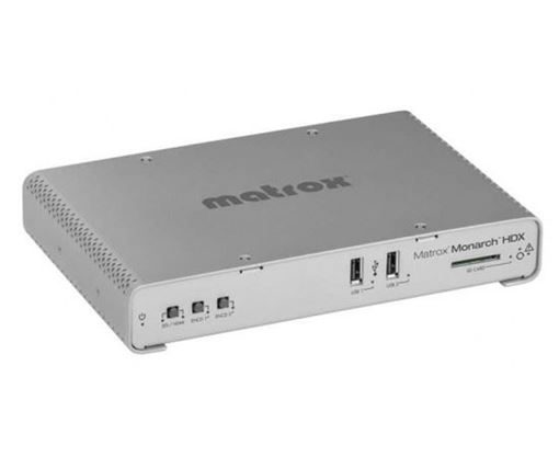 Picture of MATROX MONARCH HDX BROADCAST H.264 ENCODER