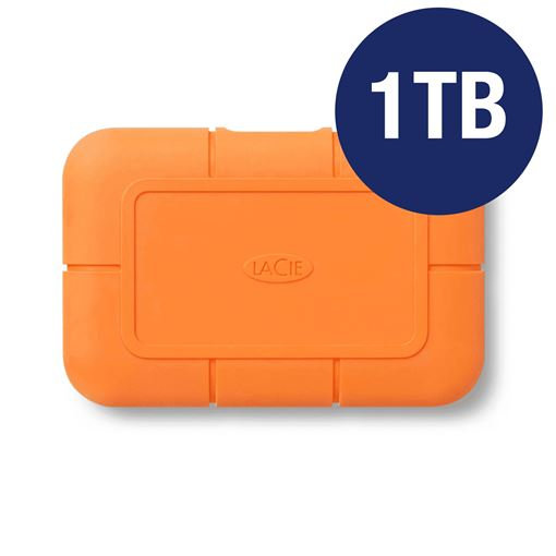 Picture of LACIE 1TB RUGGED SSD USB-C WITH RESCUE