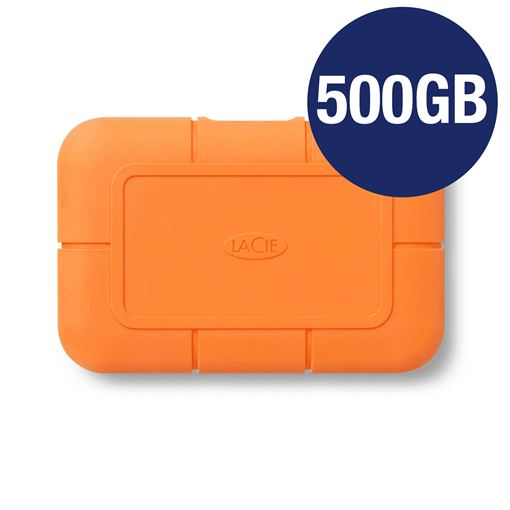 Picture of LACIE 500GB RUGGED SSD USB-C WITH RESCUE