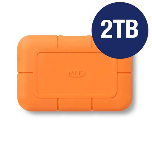 Picture of LACIE 2TB RUGGED SSD USB-C WITH RESCUE