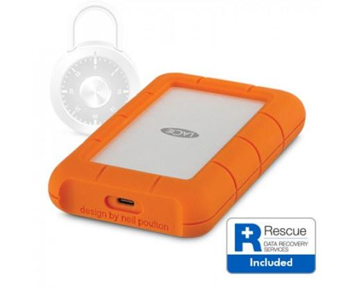 Picture of LACIE 2TB RUGGED SECURE USB 3.1 Gen 1 Type-C