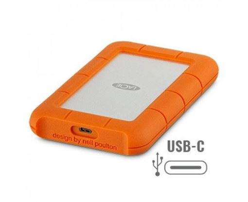 Picture of LACIE 4TB RUGGED HARD DRIVE USB-C TYPE C
