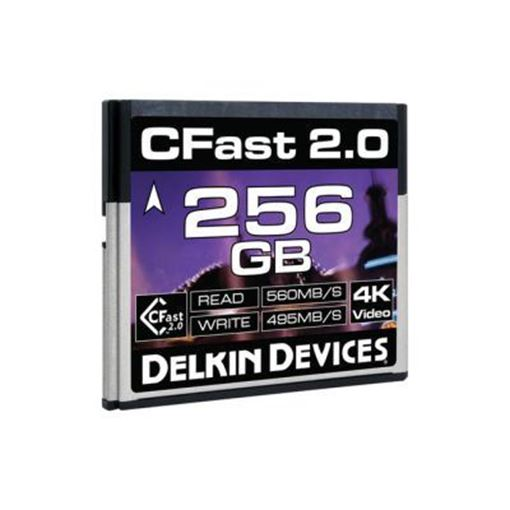 Picture of Delkin Devices CFast 2.0 Memory Card 256GB