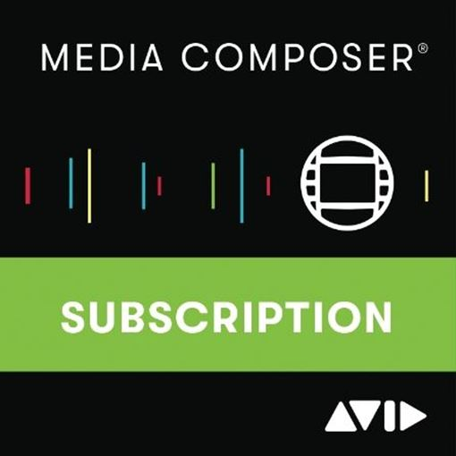 Picture of Avid Media Composer 1 Year Subscription Download