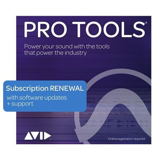 Picture of Avid Pro Tools 1 Year Subscription Renewal Download