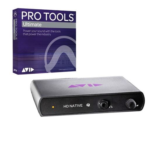 Picture of Avid Pro Tools ¦ Ultimate + Pro Tools HD Native Thunderbolt 2 Bundle