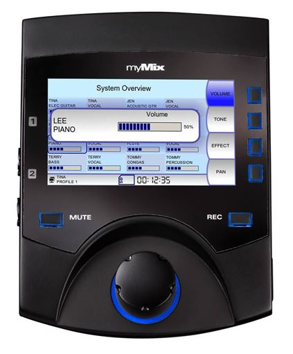 Picture of Movek myMix II Networked personal mixer & multi-track recorder