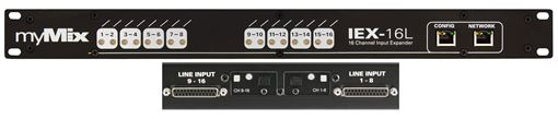 Picture of Movek MyMIx IEX-16L-A 16-channel digital/analog input expander for myMix