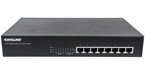 Picture of Movek BASIC8 Unmanaged 8 port Fast Ethernet switch with POE for MyMix System