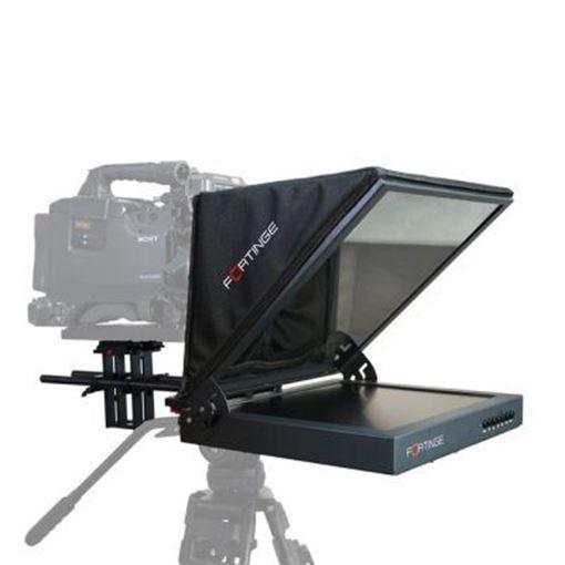 "Picture of Fortinge 21"" STUDIO PROMPTER SET with HDMI, VGA, BNC, SDI INPUT,HIGH BRIGHTNESS"