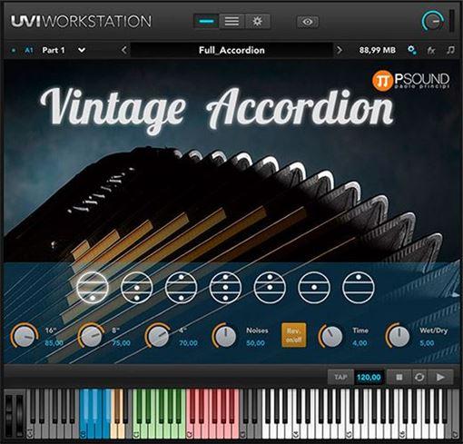 Picture of PSound Vintage Accordion Vintage Italian Accordion -Castelfidardo Download