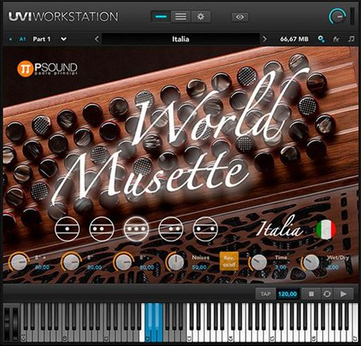 """Picture of PSound World Musette Collection of """"musette"""" sounds. Download"""