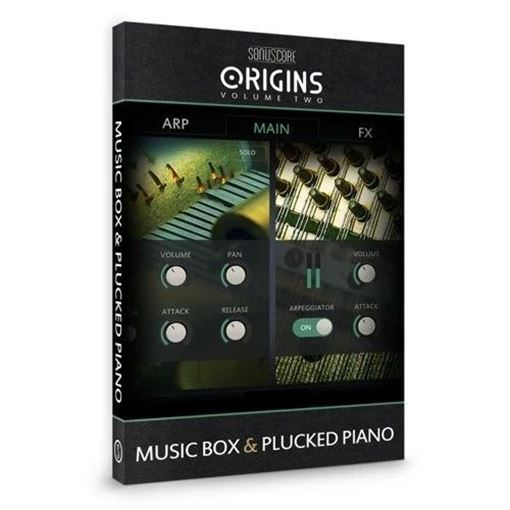 Picture of SonuScore Origins Vol.2 Music Box & Plucked Piano Download