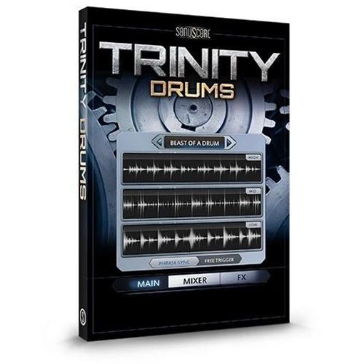 Picture of SonuScore Trinity Drums Cinematic and Modern Grooves Download