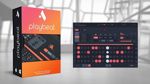 Picture of Audiomodern Playbeat Creative Groove Randomizer Virtual Instrument Download