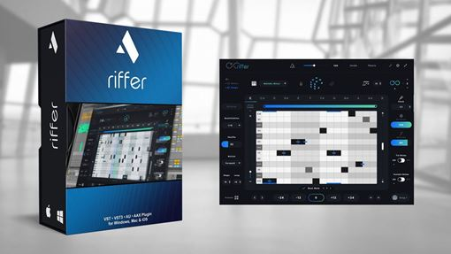 Picture of Audiomodern Riffer Smart MIDI Tool Plugin To Generate Riffs Download