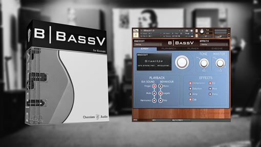Picture of Chocolate Audio BBassV for Kontakt Download