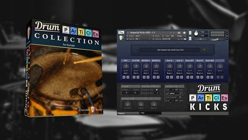 Picture of Chocolate Audio Drum Particles Collection For Kontakt Download