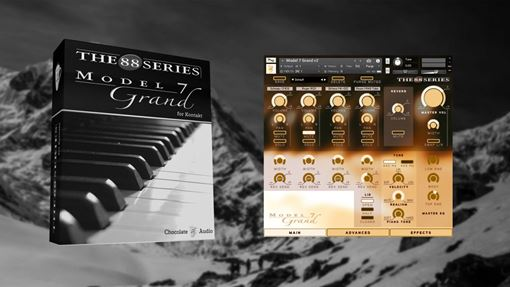Picture of Chocolate Audio Model 7 Grand Piano For Kontakt Download