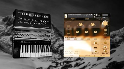 Picture of Chocolate Audio Model 80 Electric Grand Piano For Kontakt Download