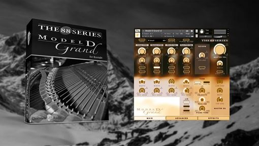 Picture of Chocolate Audio Model D Grand Piano For Kontakt Download