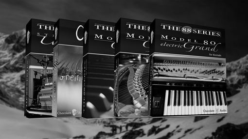 Picture of Chocolate Audio The 88 Series Pianos Bundle Download
