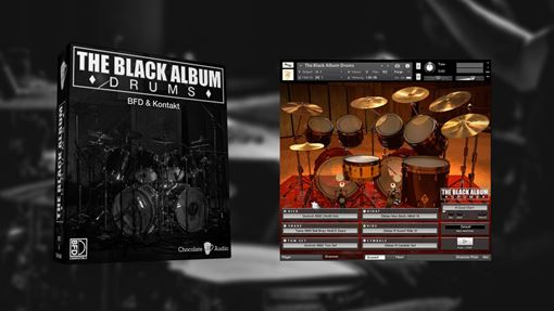 Picture of Chocolate Audio The Black Album Drums (BFD3 & Kontakt) Download