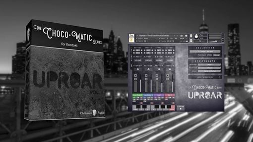 Picture of Chocolate Audio Uproar Vol 1 - 8 String Guitar For Kontakt Download