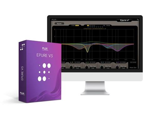 Picture of Flux Epure V3 State-Of-The-Art Five Band Equalizer Plugin Download