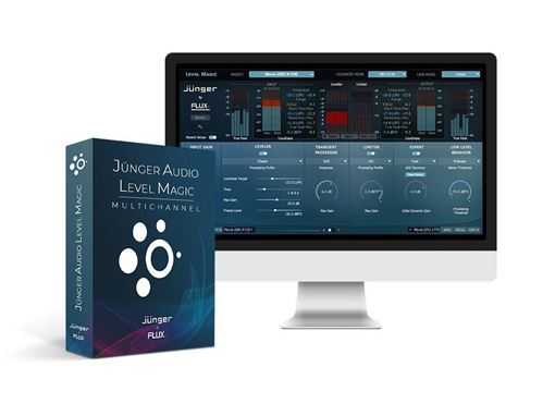 Picture of Flux Junger Audio Level Magic Multichannel Real Time & Offline Multi-channel Loudness Processor plugin Download
