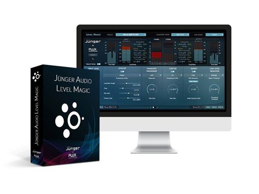 Picture of Flux Junger Audio Level Magic Stereo Real Time & Offline Stereo Loudness Processor plugin Download