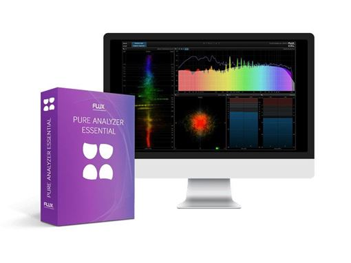 Picture of Flux Pure Analyzer Essential Pure Real Analyzer System is a network-driven modular RTA-system plug in Download